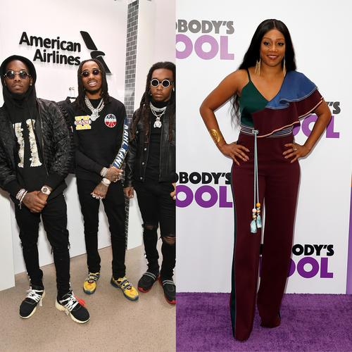 Migos Welcomes Tiffany Haddish As The Fourth Member Of The