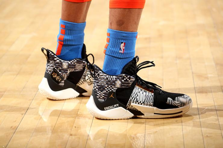 Russell Westbrook Debuts Equality