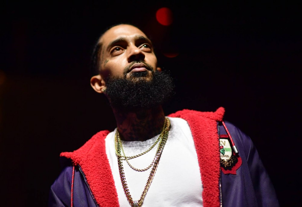 Lil Wayne Pays Respects To Nipsey Hussle