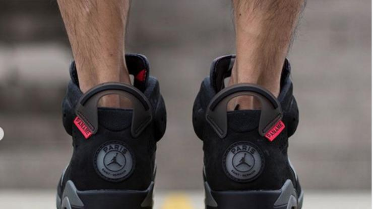 Psg X Air Jordan 6 Collab Releasing In July On Foot Images Street Stalkin