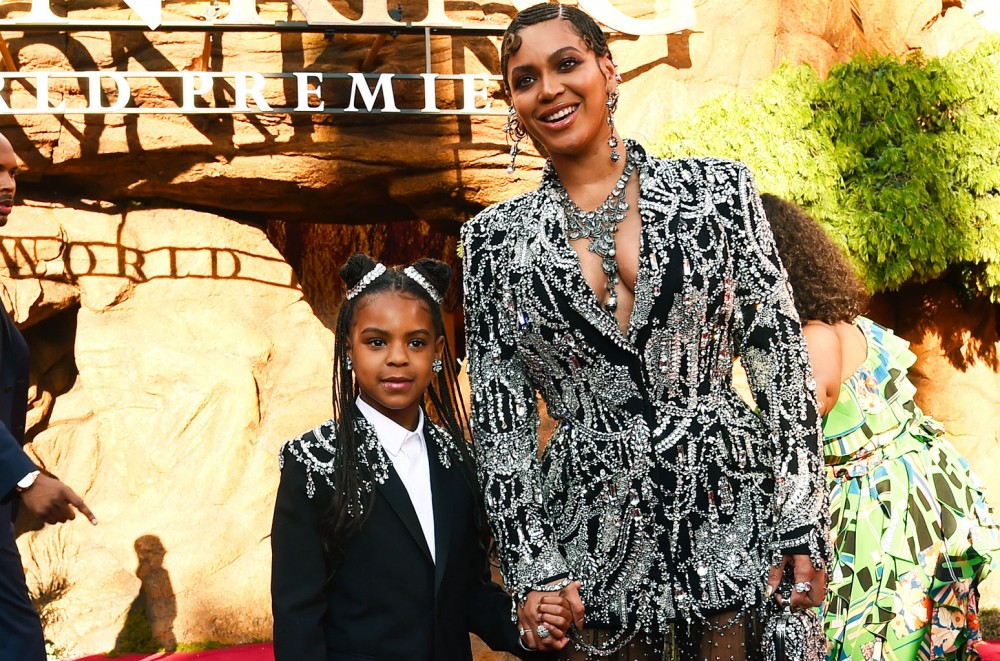 Blue Ivy Carter Featured On Brown Skin Girl From Beyonces