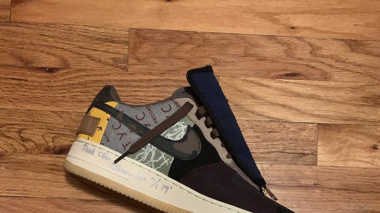 Travis Scott Gifts New Nike Air Force 1 Low Collab To Fan
