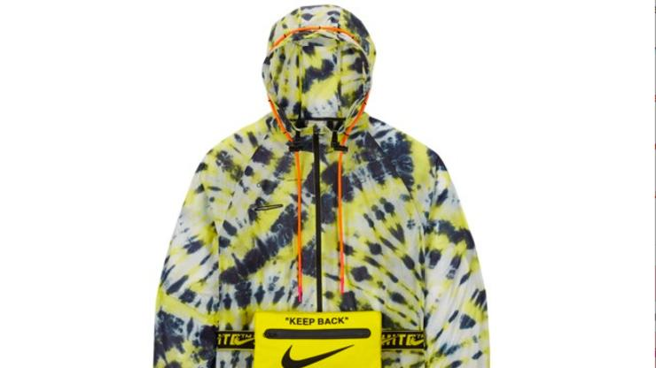 Off White Nike Collab Hoodie White